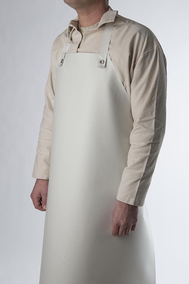 Nitrile rubber apron