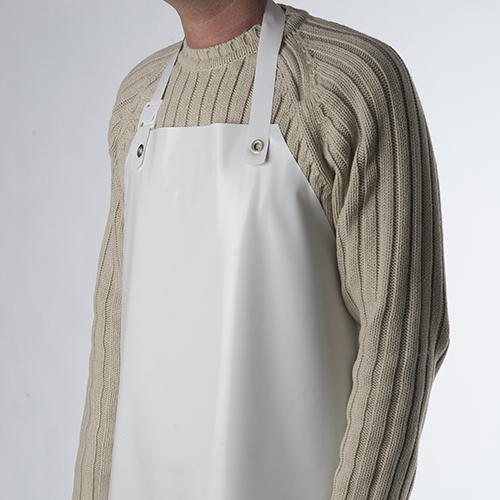 PVC apron for pastry maker